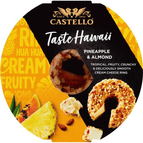 Castello Pineapple Halo Soft Cheese 125g
