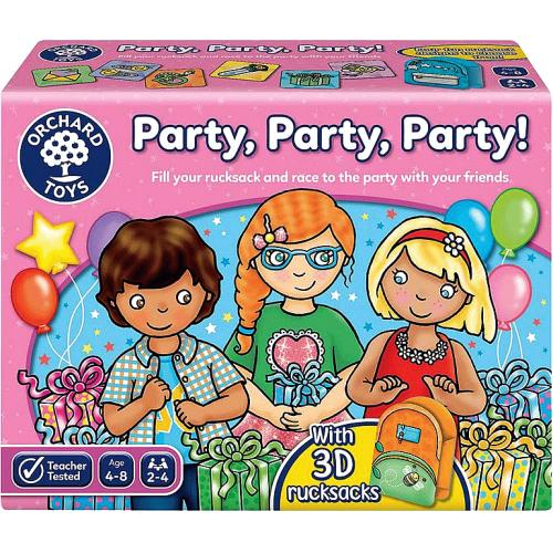 Party Party Party! Board Game 5yrs+