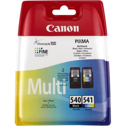 Canon PG-540 & CL-541 Multipack 2 per pack
