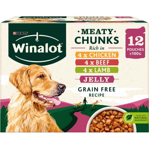 Winalot Perfect Portions Dog Food Multipack 12x 12 x 100