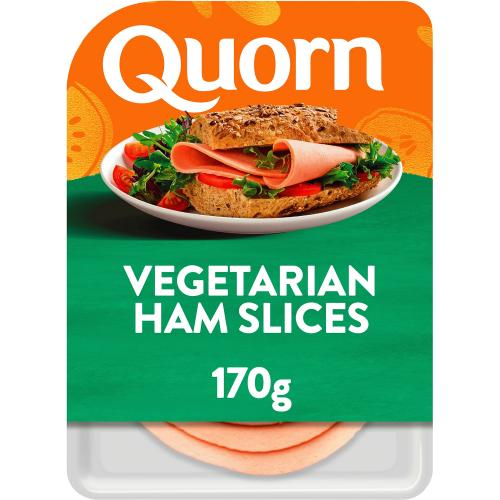 Quorn Vegetarian Ham Slices 170g