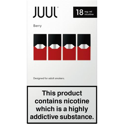 JUUL pods Alpine Berry 18mg 4 Pack
