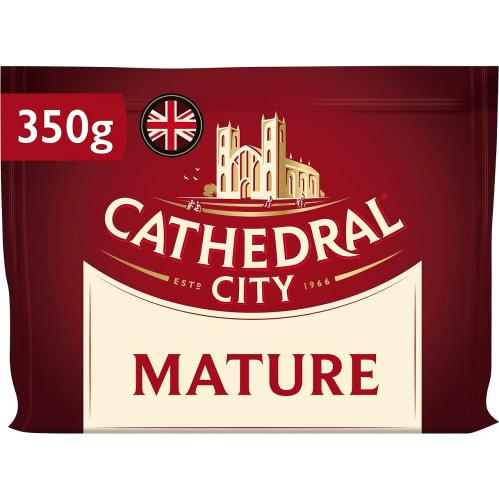 Cathedral City Mature Cheddar Cheese (350g)