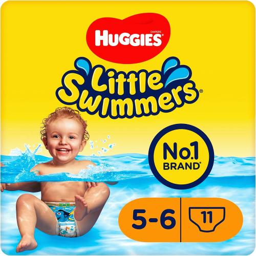 Huggies Little swimmers 5-6 11 Pack