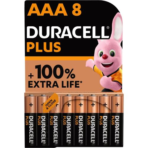 Duracell Plus AAA 8 Pack 8 Pack
