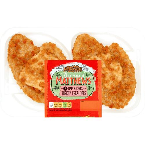 Bernard Matthews Ham & Cheese Turkey Escalopes 285g