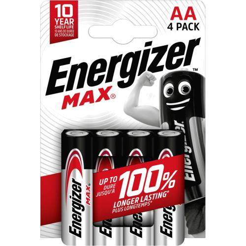 Energizer Max AA 4s 4 Pack