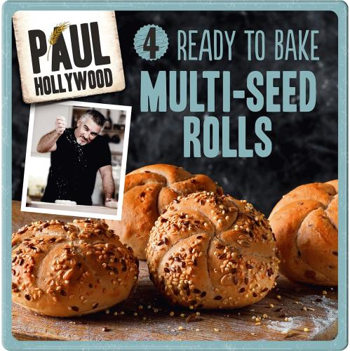 4 Ready To Bake Multi-Seed Rolls