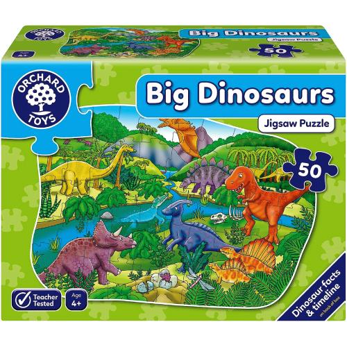 Big Dinosaurs Puzzle 4yrs+