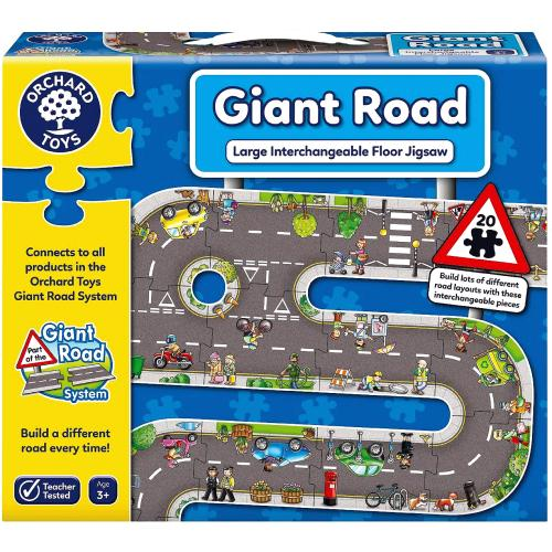 Giant Road Puzzle 3yrs+