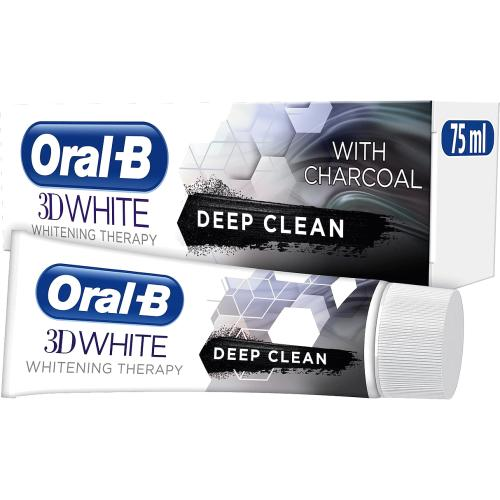 3DWhite Whitening Therapy Deep Clean Toothpaste with Charcoal